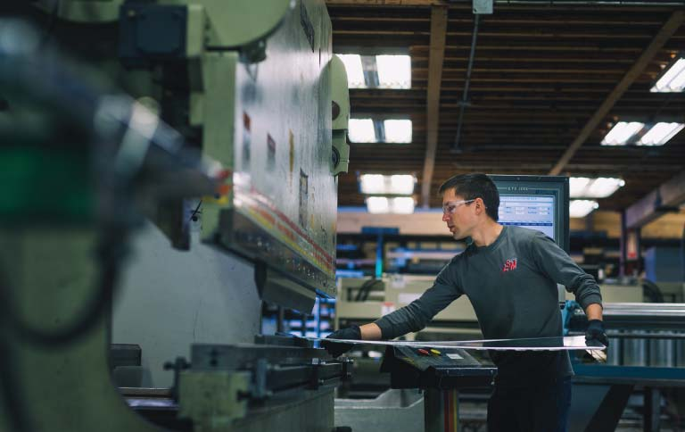 Manufacturing Services LSM Lee's Sheet Metal - Grande Prairie