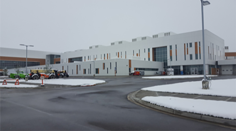 Grande Prairie Hospital Alberta LSM HVAC Mechanical installation